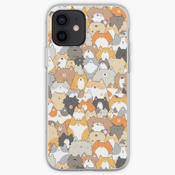 Cats, Kitties and a Spy iPhone Soft Case