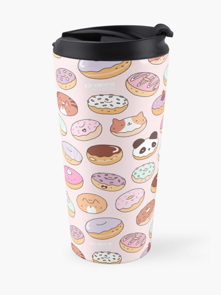 Alternate view of Mmm.. Donuts! Travel Mug