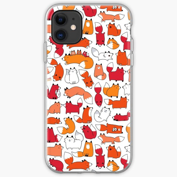 Foxy Foxes iPhone Soft Case