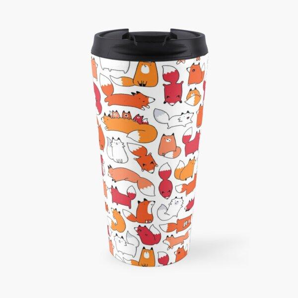 Foxy Foxes Travel Mug