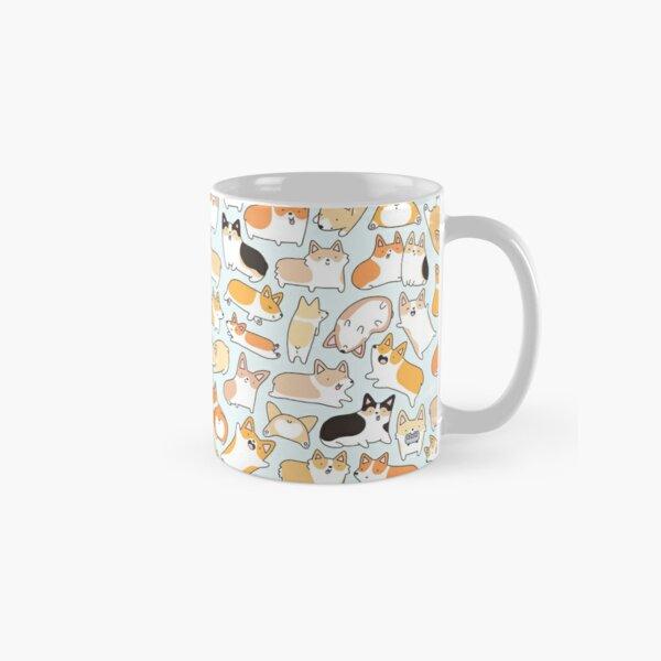 Corgilicious Corgi Doodle Classic Mug