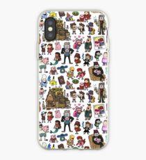 Cute Gravity Falls Doodle iPhone Case