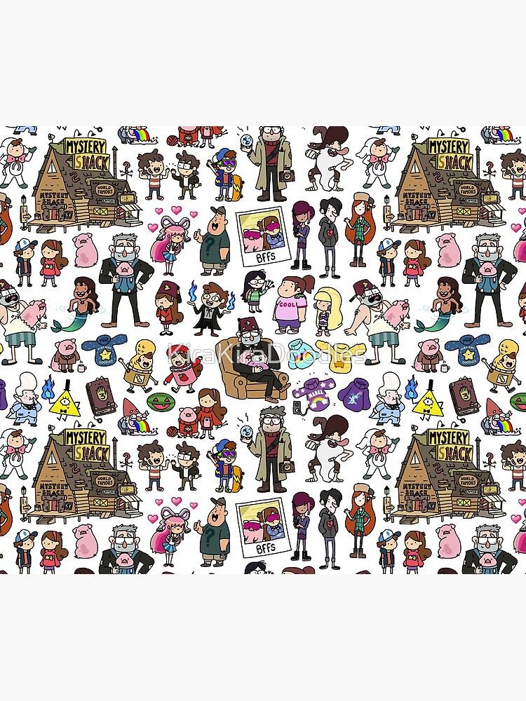 Cute Gravity Falls Doodle by KiraKiraDoodles
