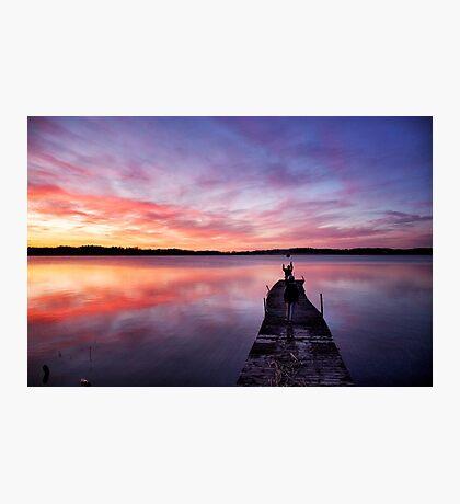 Stunning skies Photographic Print