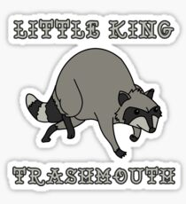 Linda Belcher's Little King Trashmouth Sticker