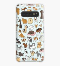 Doggy Doodle Case/Skin for Samsung Galaxy