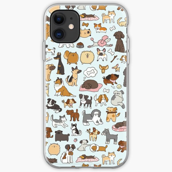 Doggy Doodle iPhone Soft Case