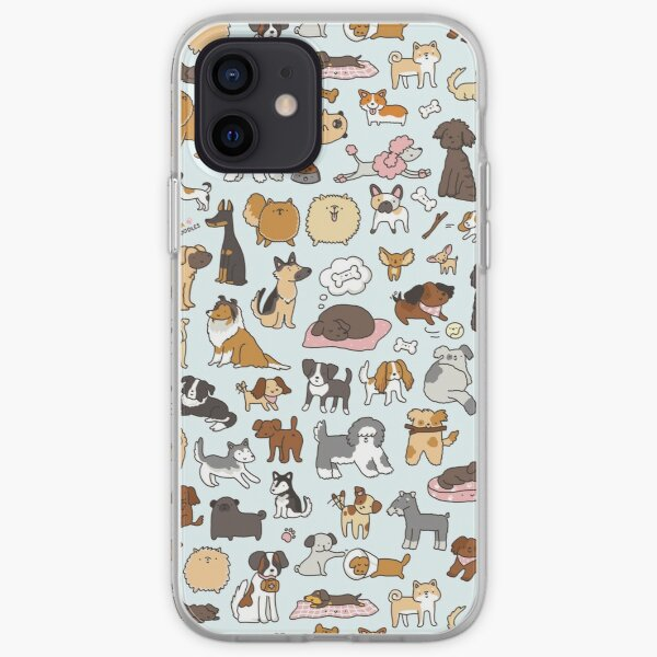 Doggy Doodle Coque souple iPhone