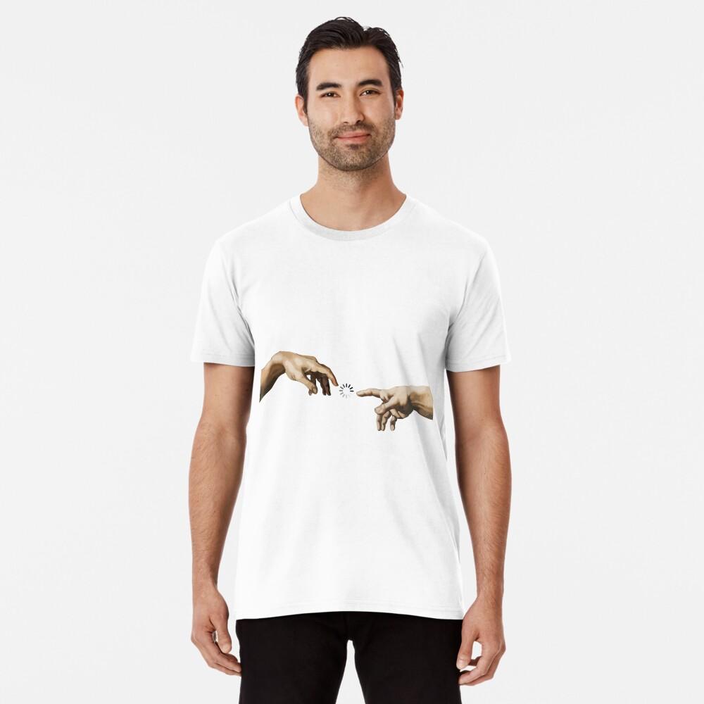 Hände Gottes Premium T-Shirt