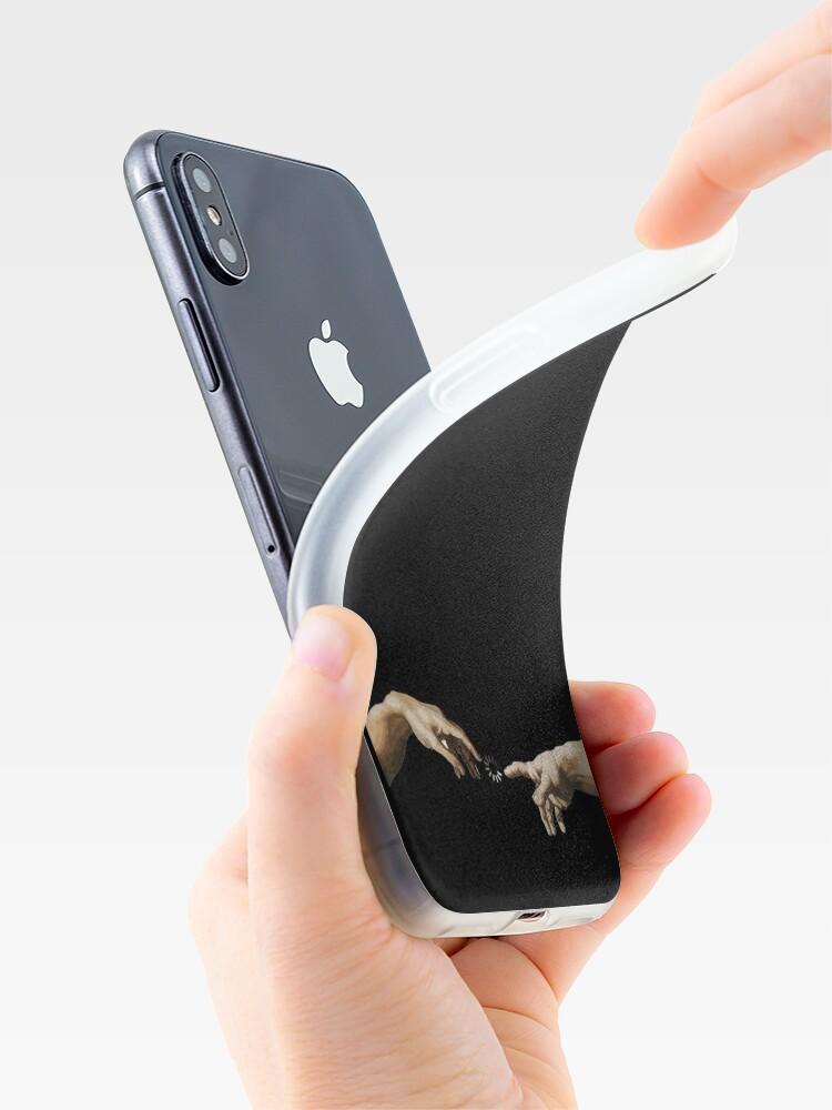 Alternative Ansicht von Hände Gottes iPhone-Hülle & Cover