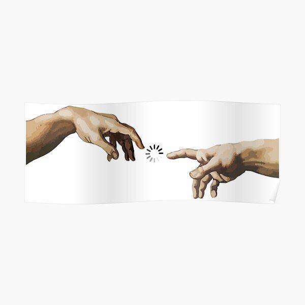 Hands of God Poster