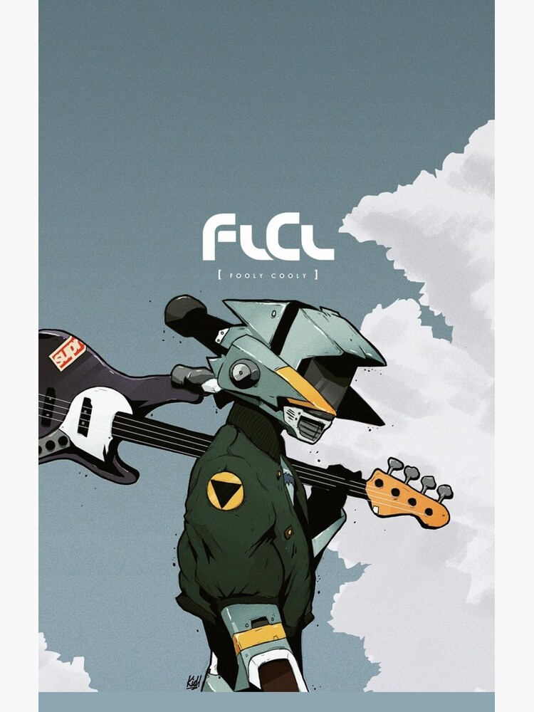 FLCL Canti Anime Phone Case by InfluenceDesign