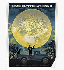 DMB2018 , May 29 , 2018  - Brandon Amphitheater Brandon , MS Poster