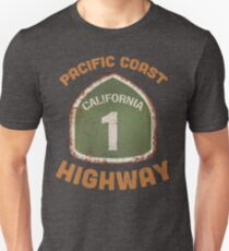 California Pacific Coast highway T-shirts and Souvenirs Unisex T-Shirt