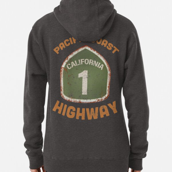 California Pacific Coast highway T-shirts and Souvenirs Pullover Hoodie