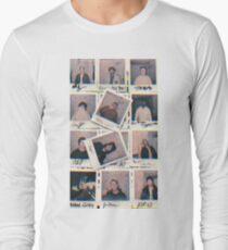 brockhampton polaroids 3D Long Sleeve T-Shirt