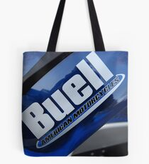 """""""Buell American Motorcycles"""" Tote Bag"""