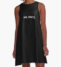 Ew, David – white A-Line Dress
