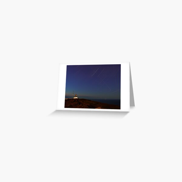 60 Minutes at the Cape Greeting Card