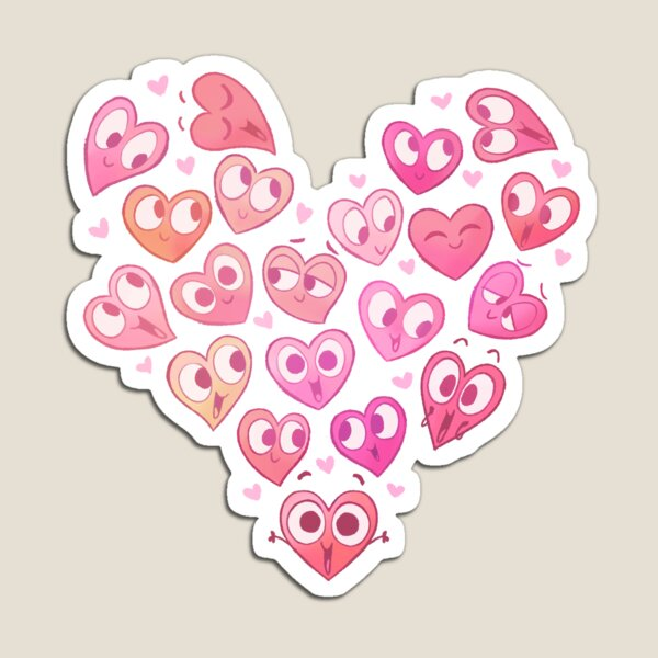 In a Heartbeat - Shirley & Friends Magnet