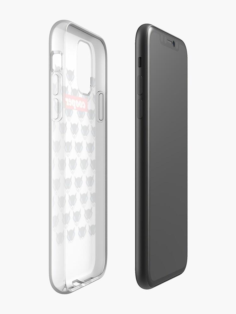 coque iphone 5s foot   Coque iPhone «Cooper Gang Merch», par NoSeedsEnt