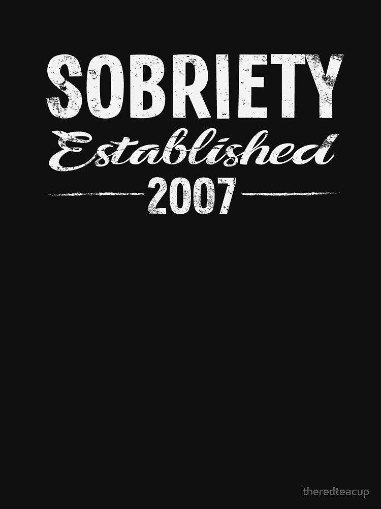 Sobriety Est 2007 - Celebrate Sober by theredteacup