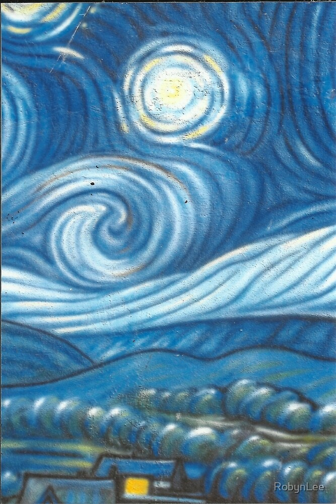 Starry Night Mural; Venice Beach by RobynLee