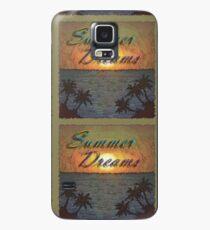 Summer Dreams Retro Surf Design   Case/Skin for Samsung Galaxy