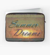 Summer Dreams Retro Surf Design   Laptop Sleeve