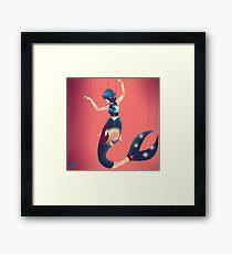 Puppetry Mermaid Framed Print