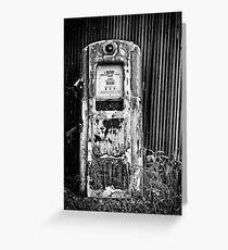 Old Pump Greeting Card