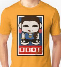 Naka Do O'BOT Toy Robot 2.0 Unisex T-Shirt