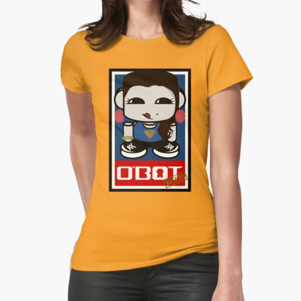 Naka Do O'BOT Toy Robot 2.0 Fitted T-Shirt