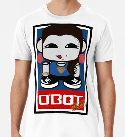 Naka Do O'BOT Toy Robot 2.0 Premium T-Shirt