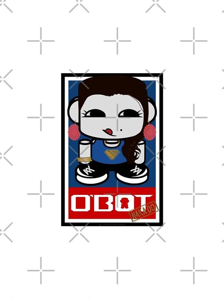 Naka Do O'BOT Toy Robot 2.0 by carbonfibreme