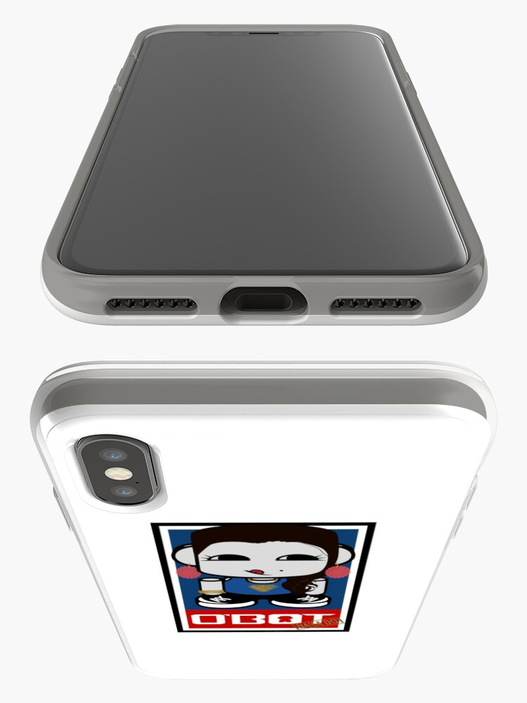 Alternate view of Naka Do O'BOT Toy Robot 2.0 iPhone Case & Cover