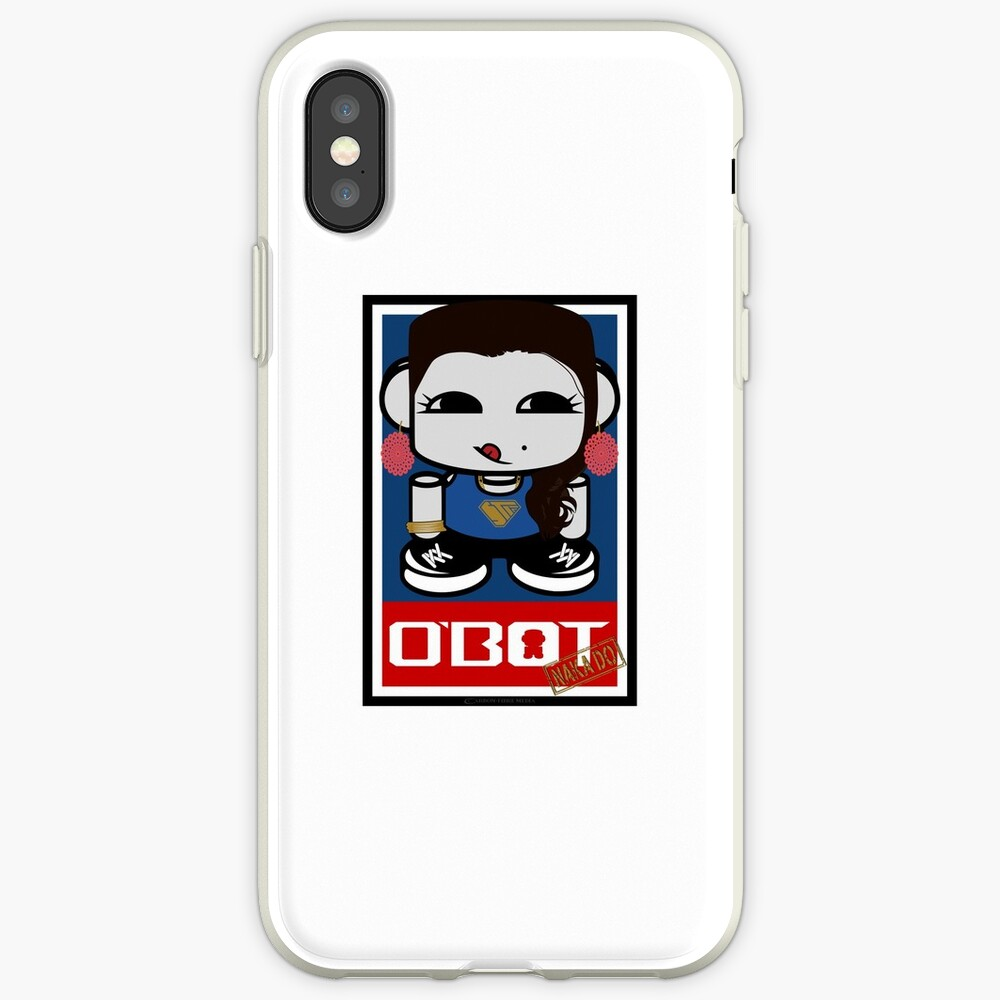 Naka Do O'BOT Toy Robot 2.0 iPhone Case & Cover