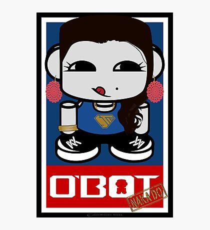 Naka Do O'BOT Toy Robot 2.0 Photographic Print