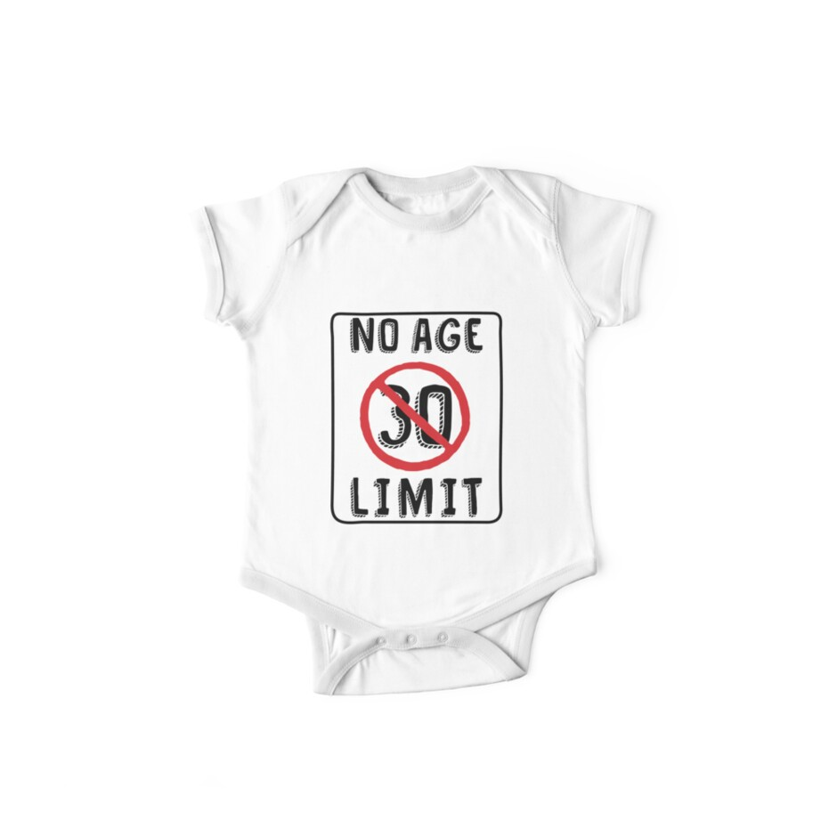 No Age Limit 30th Birthday Gifts Funny B Day For 30 Year Old