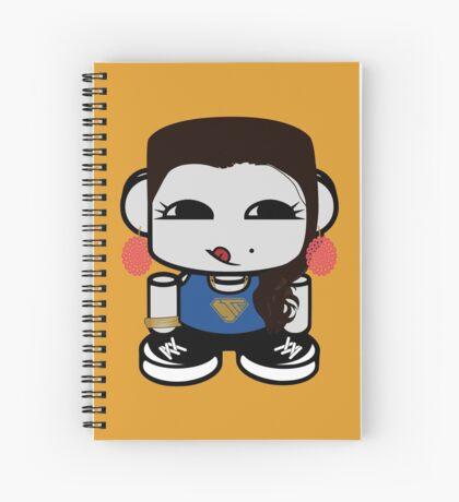 Naka Do O'BOT Toy Robot 1.0 Spiral Notebook