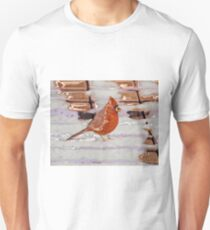 Red in the Snow Unisex T-Shirt