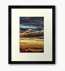 Clouds XI Framed Print