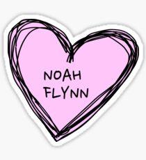 noah flynn kissing booth Sticker