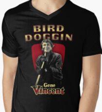 BIRD DOGGIN GENE VINCENT Men's V-Neck T-Shirt