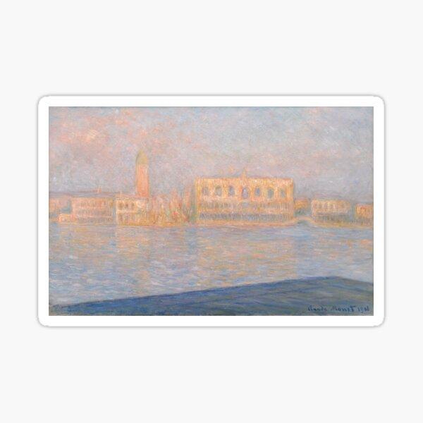 The Palazzo Ducale, Seen From San Giorgio Maggiore  Sticker