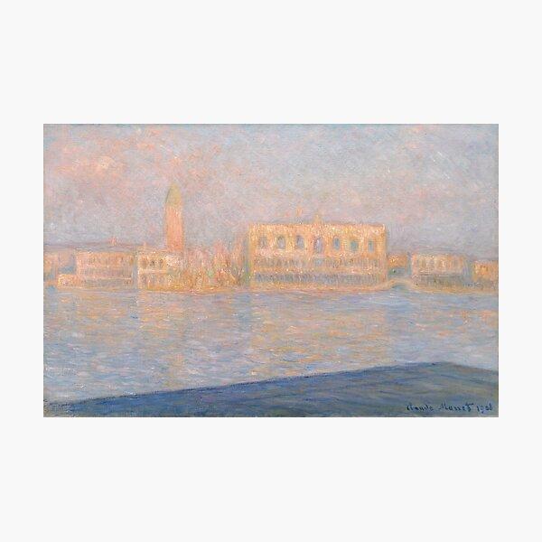 The Palazzo Ducale, Seen From San Giorgio Maggiore  Photographic Print