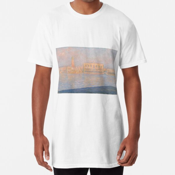The Palazzo Ducale, Seen From San Giorgio Maggiore  Long T-Shirt