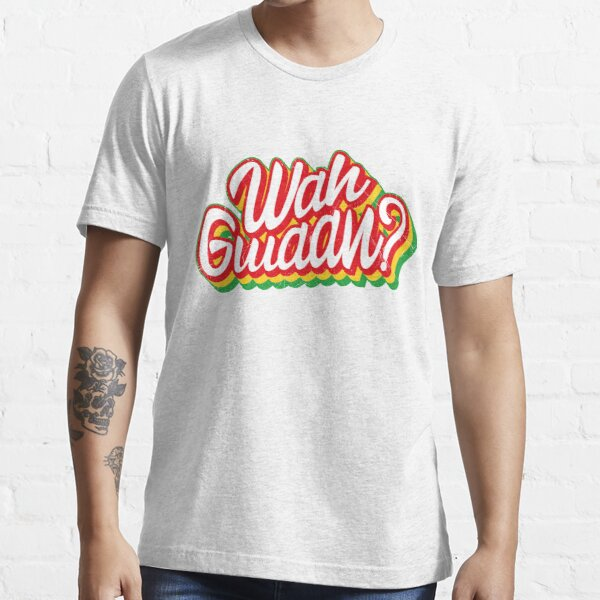 """Was ist los"" in Jamaican Slang Essential T-Shirt"
