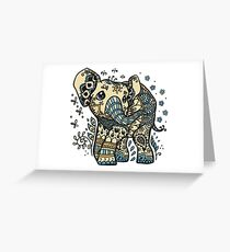Mandala elephant Greeting Card