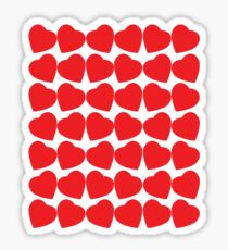 Sweet Hearts Sticker